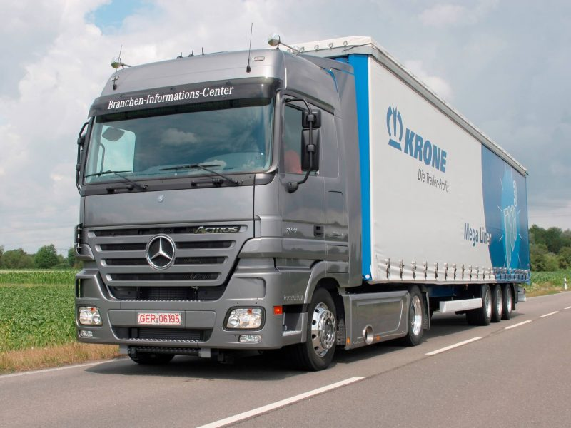Фото Mercedes-Benz Actros MP2