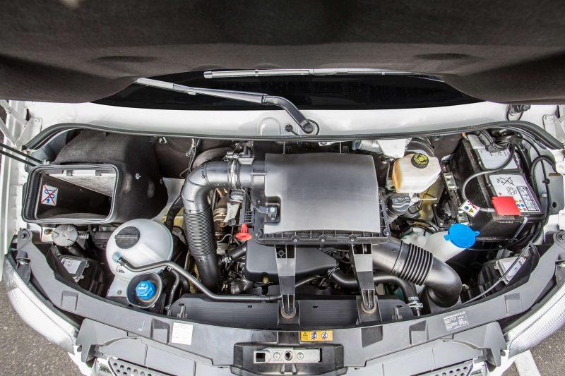 Mercedes-Benz Sprinter City двигатель