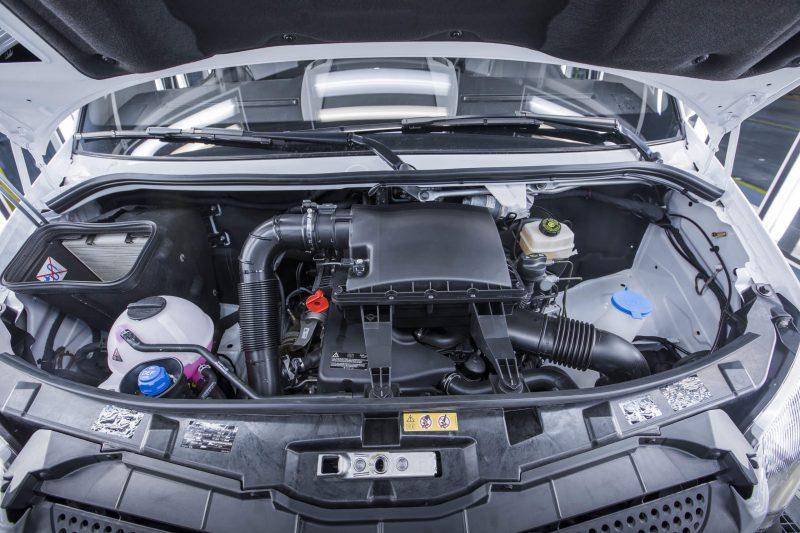 Mercedes-Benz Sprinter Worker двигатель