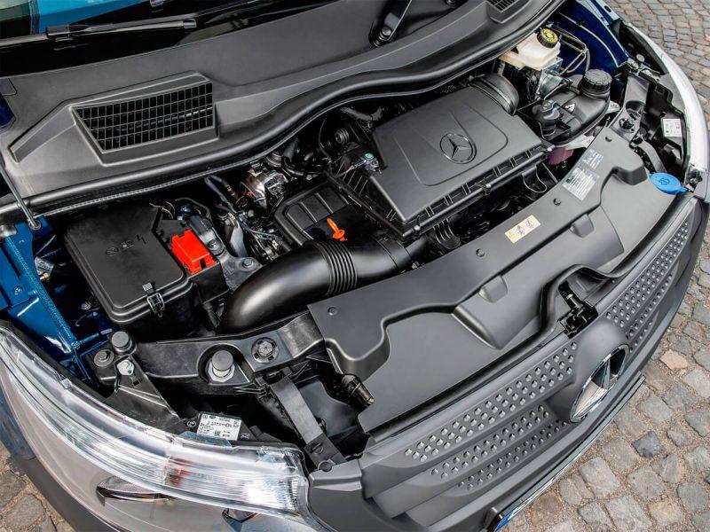 Mercedes-Benz Vito двигатель