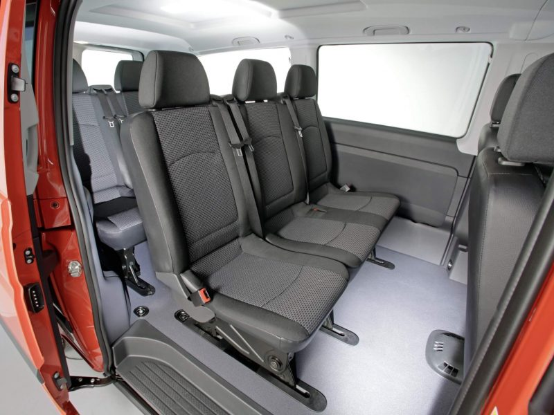 Пассажирские кресла Mercedes-Benz Vito