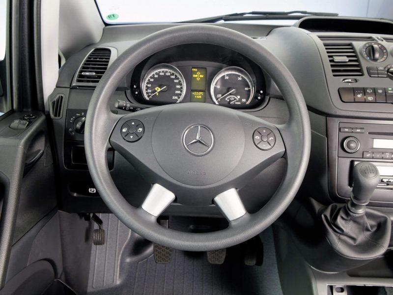 Приборная панель Mercedes-Benz Vito