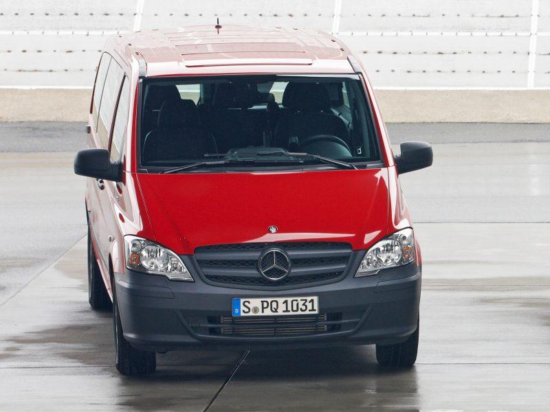 Рестайлинг Mercedes-Benz Vito