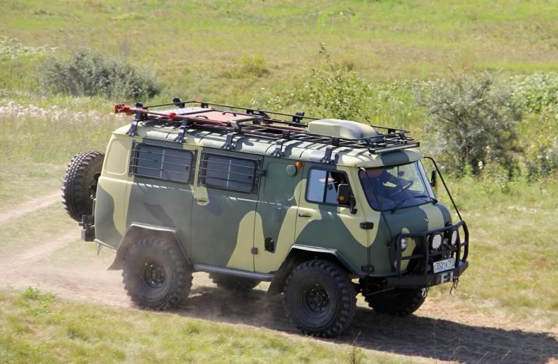 Тюнинг УАЗ-452