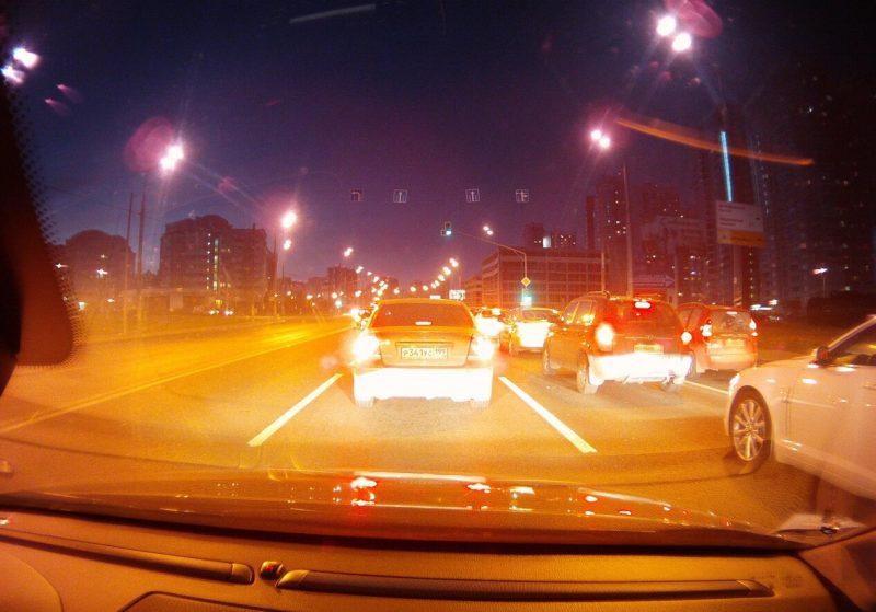 Ночная съемка видеорегистратор