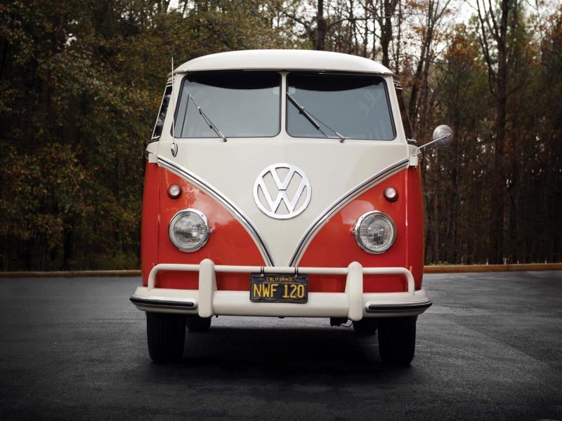 Вид спереди Volkswagen Transporter Т1