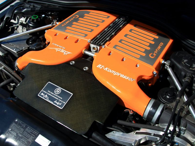 Двигатель M5 (E60)