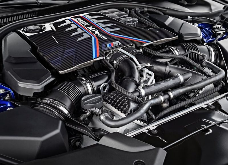 BMW M5 F90 двигатель