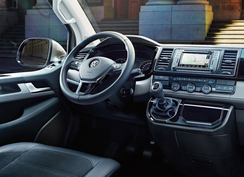 Volkswagen Transporter Т6 салон