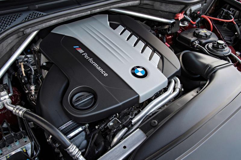 BMW X6 M50d двигатель