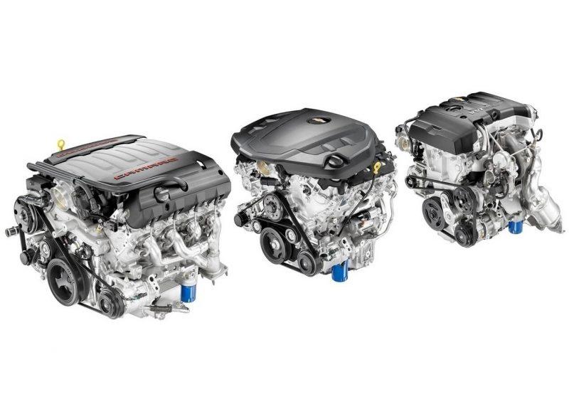 Двигатель Chevrolet Camaro VI
