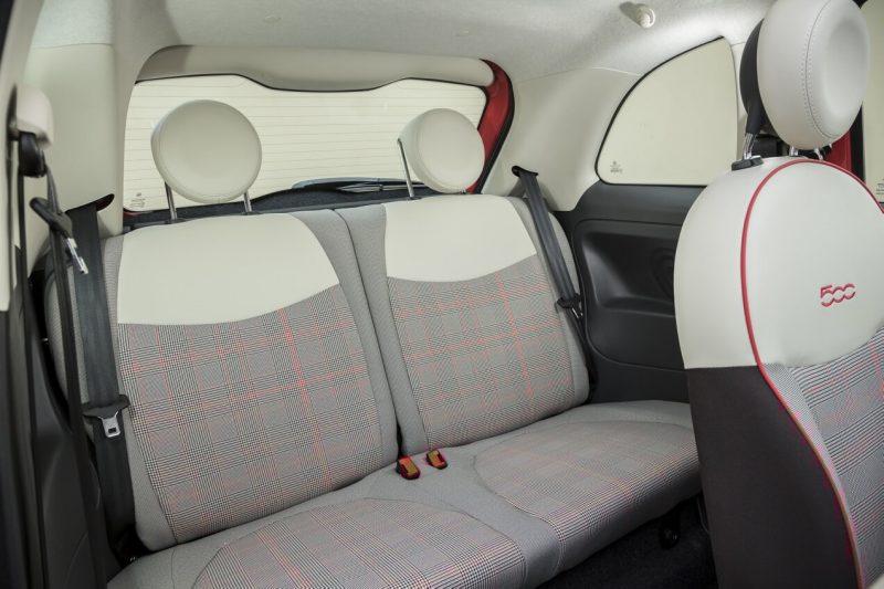 Задние кресла Fiat 500