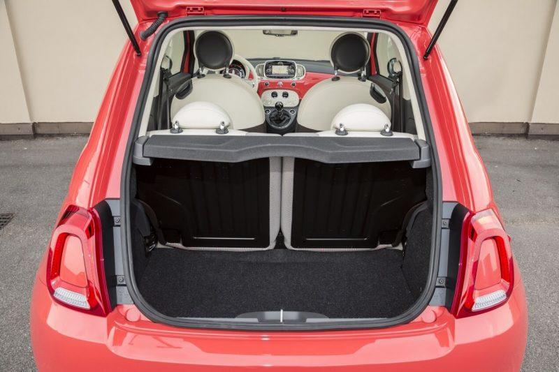 Багажник Fiat 500