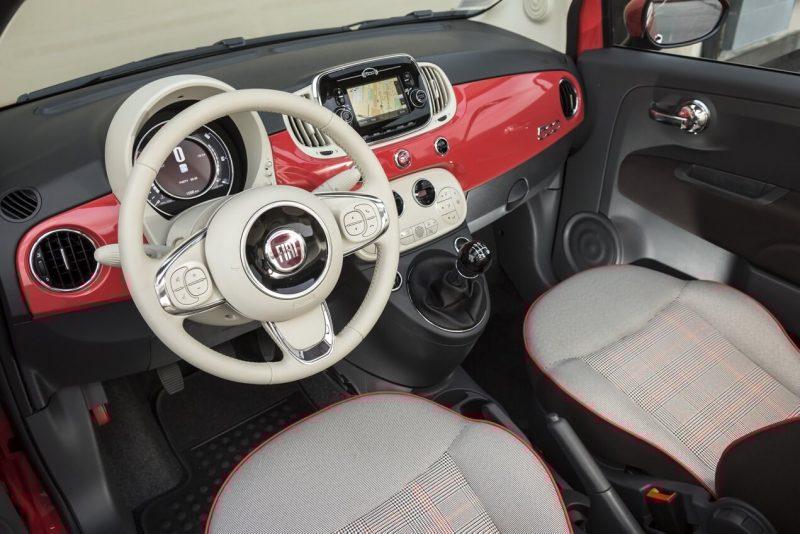 Fiat 500 салон