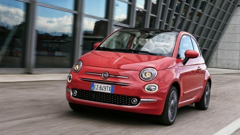 Авто Fiat 500 C