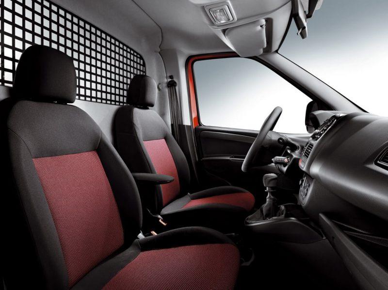 Fiat Doblo 2 передние сиденья