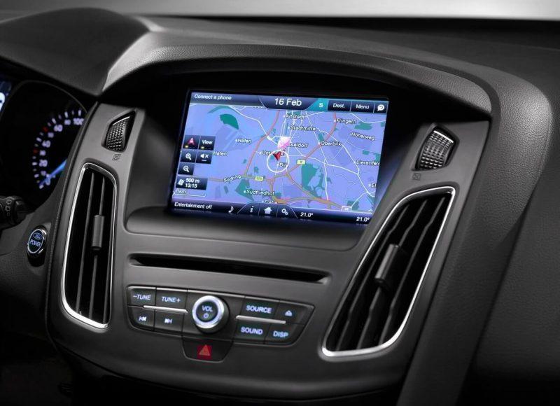 Ford Focus многофункциональный экран