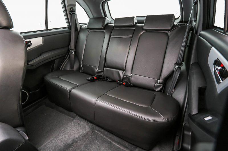 Lifan X60 задние кресла