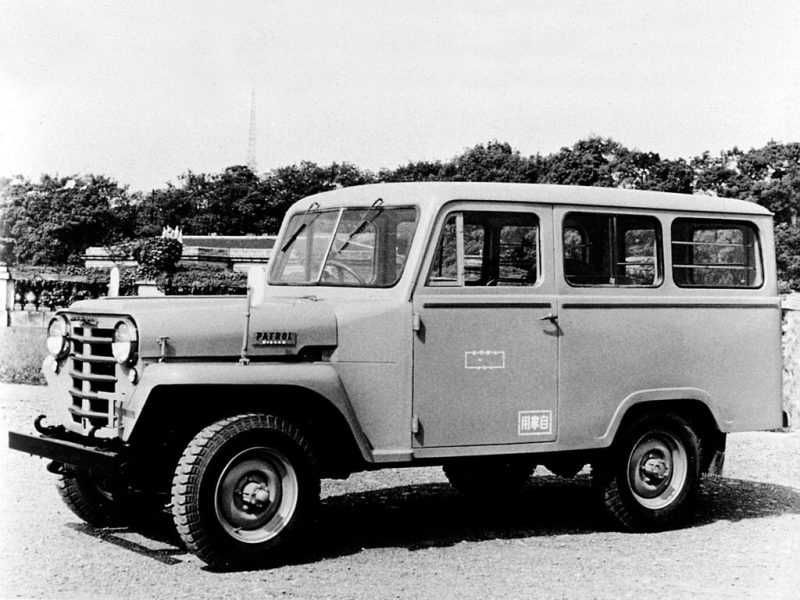 Nissan Patrol WG4W65