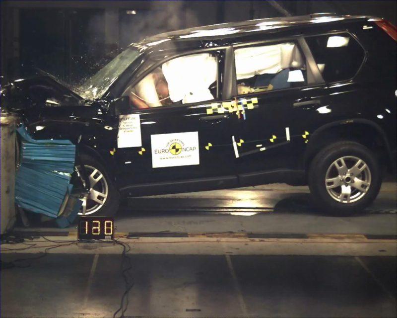 Фото краш тест Euro NCAP