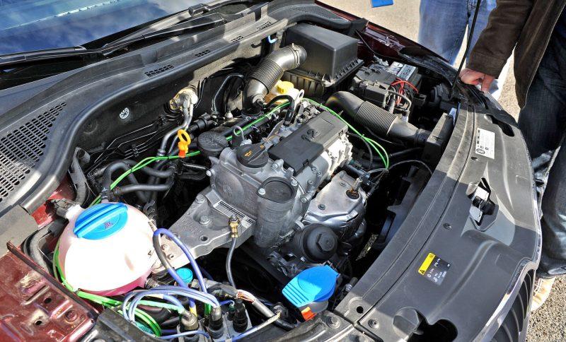 Skoda Rapid двигатель 1.2-литровый мотор