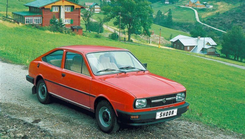 Авто Skoda Rapid 1984 года