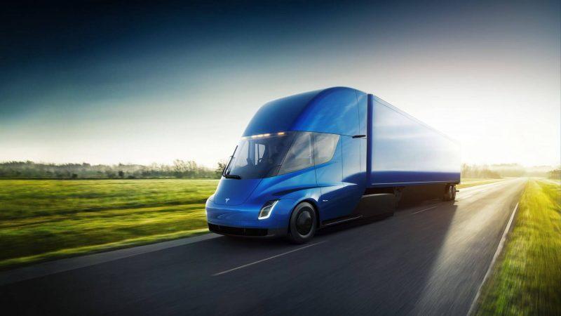Авто Tesla Semi
