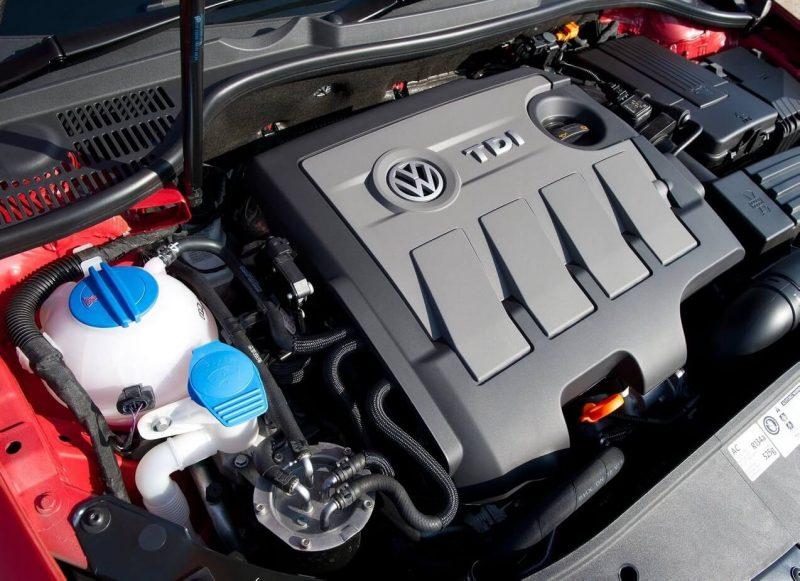 Дизельный двигатель Volkswagen Golf 6