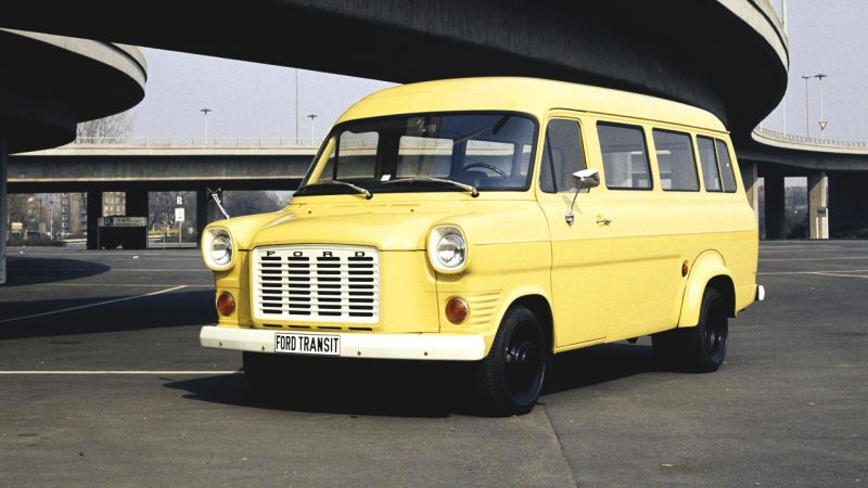 Фото Transit 1971 года