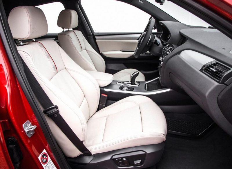 BMW X4 салон