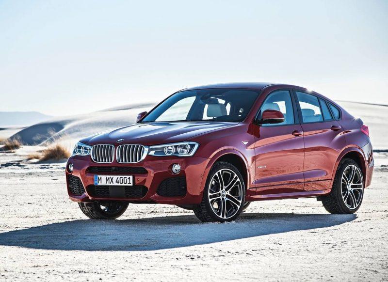 BMW X4 фото кроссовера