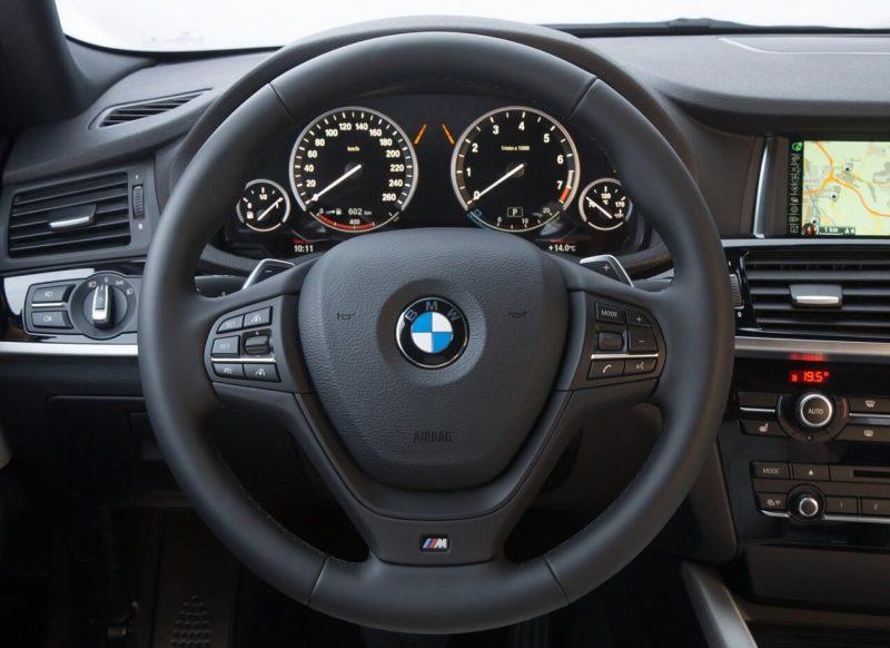 Руль BMW X4