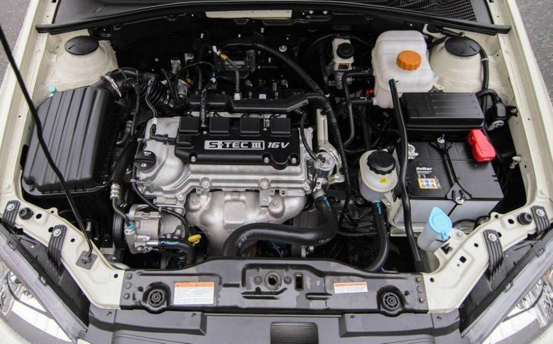 Daewoo Gentra двигатель