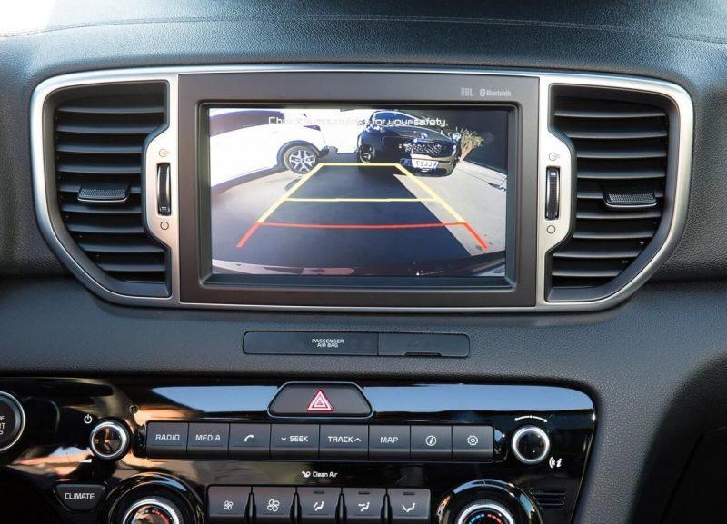 Мультимедийные экран KIA Sportage