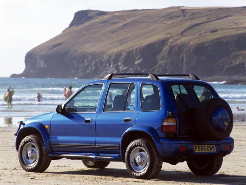 Фото авто KIA Sportage 1993 года