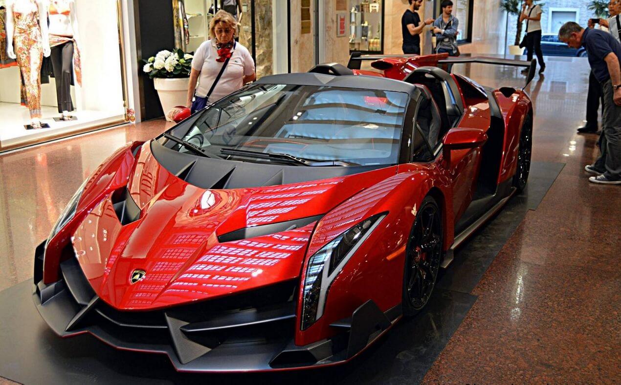 машина ламборджини венеро roadster