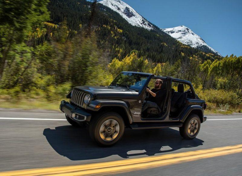 Фото нового Jeep Wrangler IV