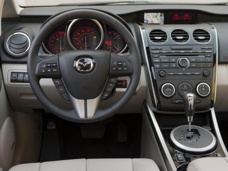 Рулевое колесо Mazda CX-7