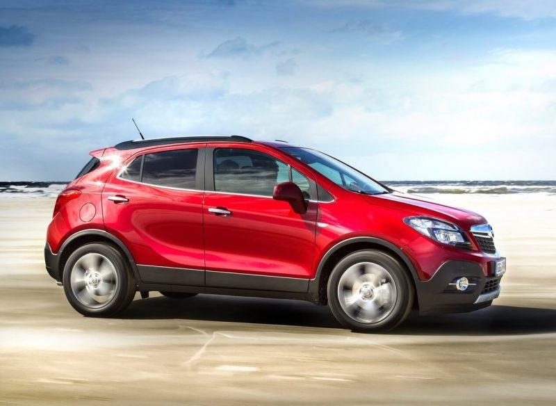 Вид сбоку Opel Mokka