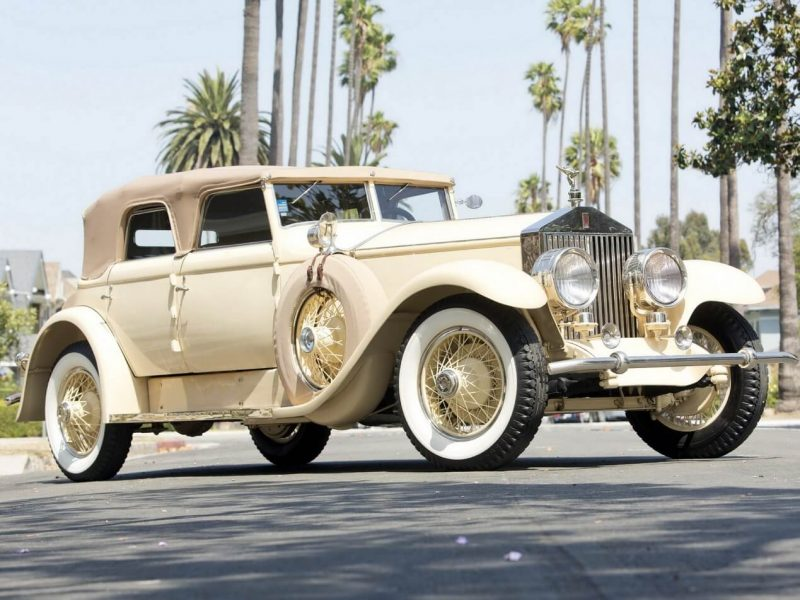 Авто Rolls-Royce Phantom I 1929 года