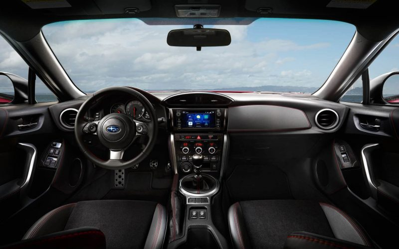 Салон Subaru BRZ 2017