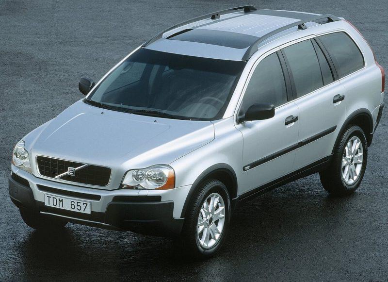 Авто Volvo XC90 2002