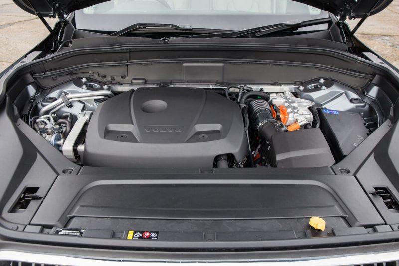 Гибридный двигатель Volvo XC90 II