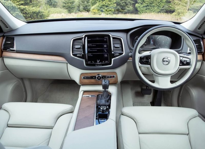 Volvo XC90 II салон