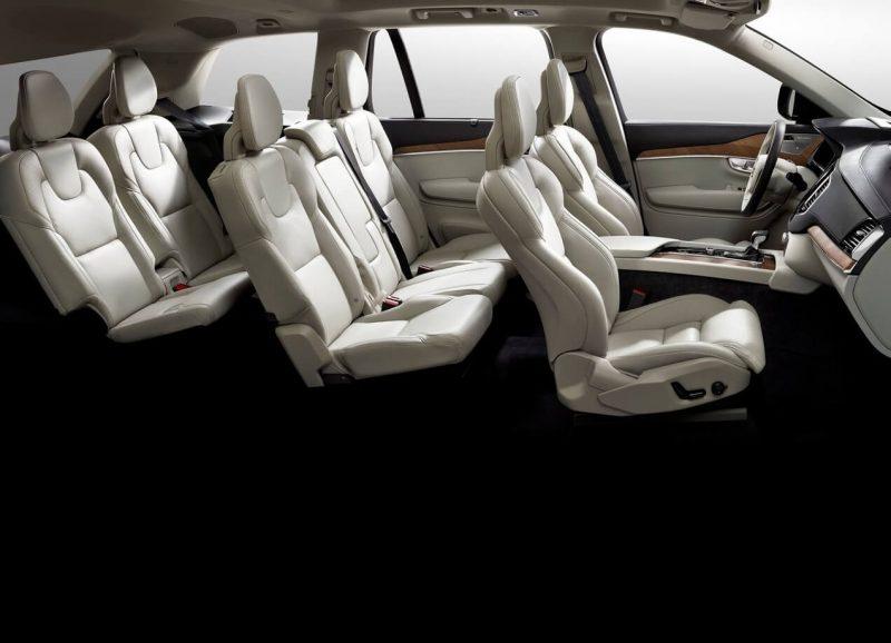 Пассажирские кресла Volvo XC90 II
