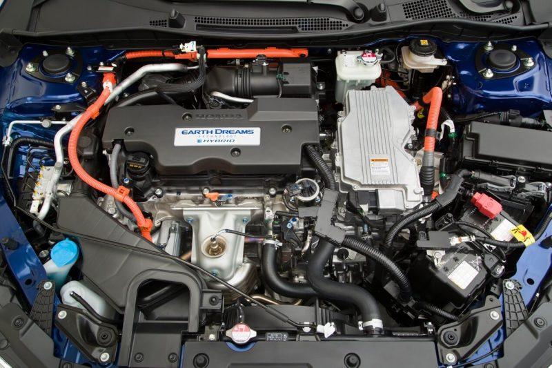 Двигатель Honda Accord Hybrid