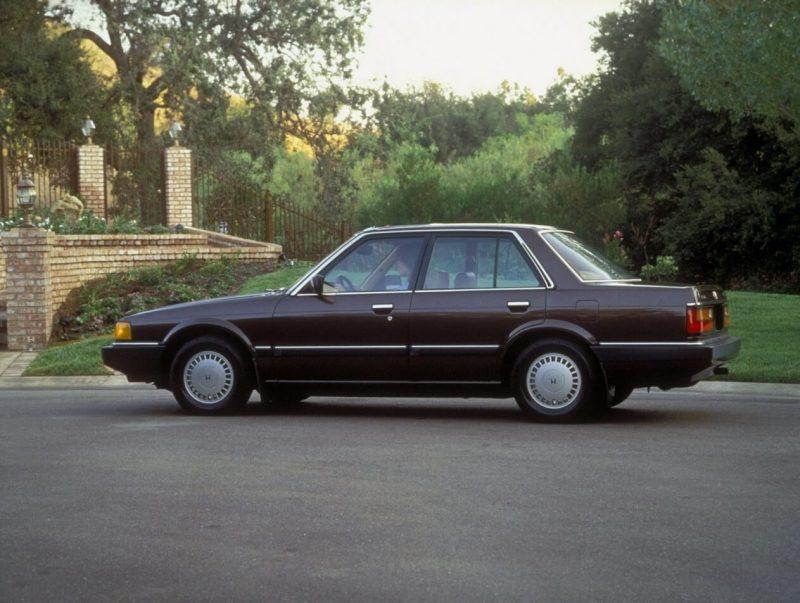 Honda Accord II вид сбоку
