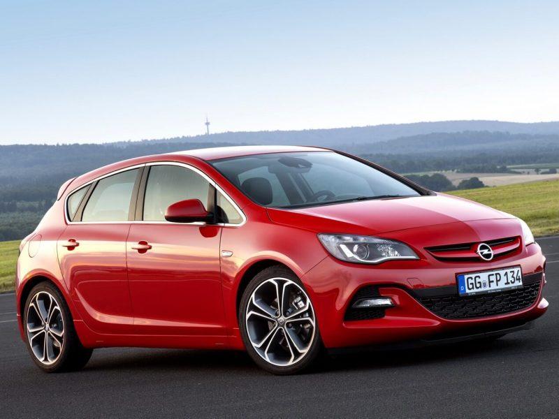 Фото Opel Astra J