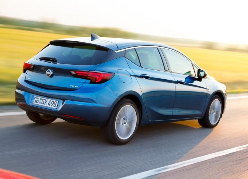 Фото авто Opel Astra К