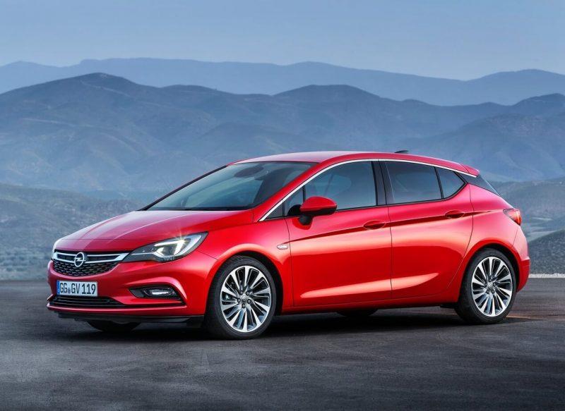 Хэтчбек Opel Astra K